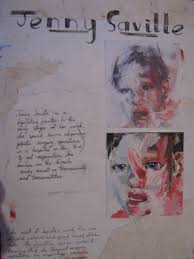 artist research jenny saville by nightmare of nature