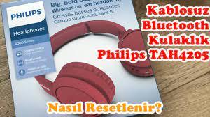Philips Kablosuz Bluetooth Kulaklık Sıfırlama/Resetleme/Bluetooth da  Görünmüyor/Bağlanma Sorunu - YouTube