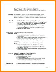 internship objective resume 8 objective resume internship informal letters  sample of nurse internship resume