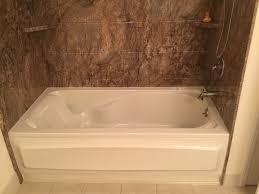 soaking bathtub after
