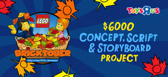 "Script Storyboard Beauteous LEGO Toys ""R"" Us Bricktober Concept Script And Storyboard Project"