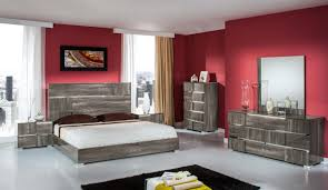 italian lacquer furniture. modrest picasso italian modern grey lacquer bedroom set furniture