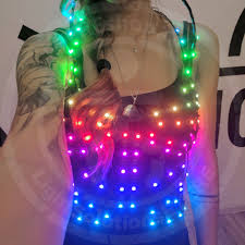 Light Solutions Etere Smart Led Light Up Cage Top Corset
