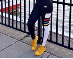 adidas leggings. pants adidas shoes originals yellow sportswear leggings workout