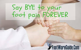 relieve foot pain from standing all day