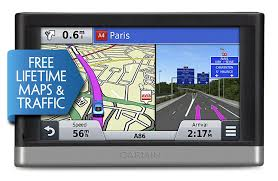garmin nuvi lmt  inch satellite navigation with uk and full