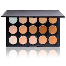 professional cream foundation and camouflage concealer 15 color palette