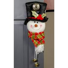 Decorative Door Hangers 12 Snowman Door Hanger Black Top Hat 75058 Craftoutletcom