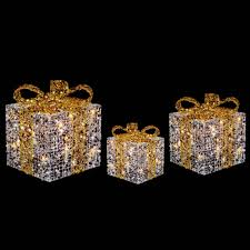 Light Up Gift Box Christmas Decoration