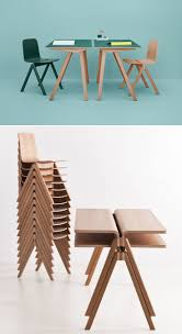 cool look but looks expensive uncomfortable making school furniture beautiful the bouroullecs copenhague line for hay