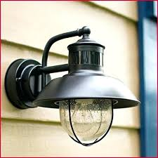 outdoor wall light with motion sensor chrming motion activated outdoor wall light with photocell sensor