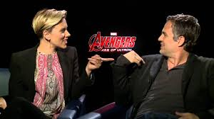 scarlett johansson and mark ruffalo talk avengers age of ultron you