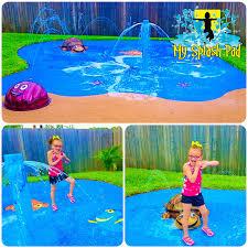 make a wish residential backyard splashpad my splash pad water park manufacturer installer