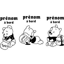 sticker bébé à bord personnalisé sticker bébé à bord personnalisé et ses 3 oursons ambiance