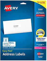 Avery Address Lables Address Labels Amazon Com Office School Supplies Labels