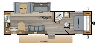 2019 jay flight 29rks floorplan