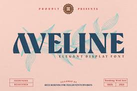 The sans serif set is neat and clean with different style. Aveline Font By Zealab Fonts Division Creative Fabrica
