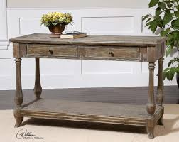 distressed entry table. mardonio distressed console table entry t