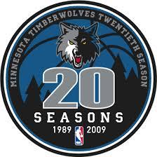 Minnesota Timberwolves Anniversary Logo - National Basketball ...