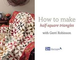 182 best Quilting-Half & 1/4 square triangles and rectangles ... & Roundup: our top 5 free quilting videos Adamdwight.com