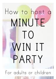 about our minute to win it party in 2016 but after the one we just hosted over the weekend i had a lot more details and suggestions i wanted to share