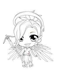 Overwatch Sombra Pages Coloring Pages