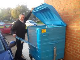 checking bin waste bins cranfield universitys walks