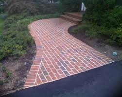 brick and stone pathways and patios diy