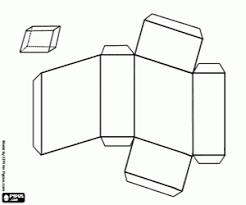 Kleurplaat Een Parallellepipedum Schuine Kleurplaten