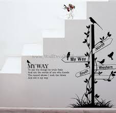my way urban wall decals