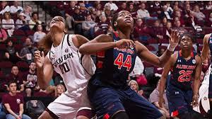 Auburn women fall at No. 12 Texas A&M
