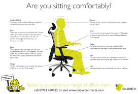 office chair guide. Office Chair Set Up Guide From Cubex Contracts How To Adjust Chairs Knob F