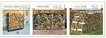 Face Cord vs Full Cord of Firewood | Northline Express