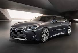 2018 lexus models. Wonderful 2018 2018 Lexus LS Render Born From LFFC Concept Intended Lexus Models