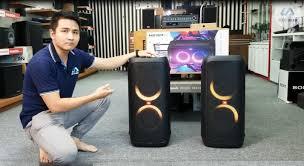 Điện tử Linh Anh - Loa kéo Karaoke JBL Partybox 310 đánh giá chi tiết, hát  thử và so sánh âm thanh với Partybox 300