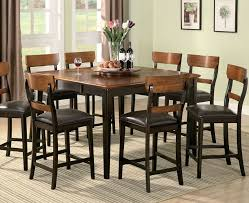 tall round dining room sets. Countertop Dining Room Sets Of Well Coaster Counter Height Furniture Decor Tall Round S
