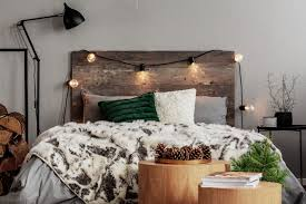 own barn wood accent wall