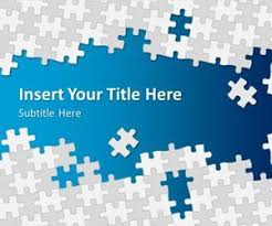 Free Microsoft Powerpoint Templates 2007 Puzzle Pieces Powerpoint Template Is A Free Puzzle Template For