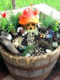outside fairy garden ideas how to create