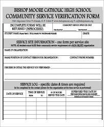 Community Service Form - Quotidian.us