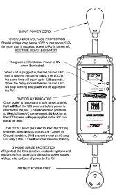 surge guard 34730 001 lcd portable rv surge protector lcd surge guard