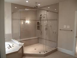 best glass shower enclosure ideas image of frameless corner doors home decorating ideas arc clipgoo