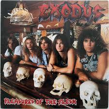 <b>Exodus</b> - <b>Pleasures Of</b> The Flesh (1987, Vinyl) | Discogs