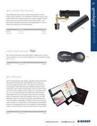 Dichroscope Color Chart Kassoy 2013 Catalog By Kassoy Llc Issuu