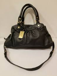 marc by marc jacobs black classic q lil ukita leather shoulder bag for