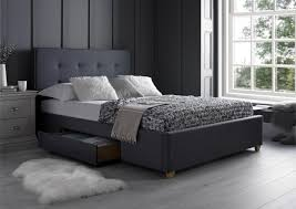 Milano Bedroom Furniture Milano Grey 2 Drawer Super King Size Beds Bed Sizes