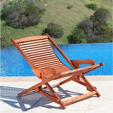 folding lawn lounge chairs. Plain Lawn Vifah Roch Eucalyptus Folding Patio Lounge Chair To Lawn Chairs Home Depot