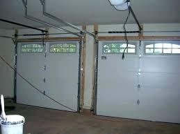 cost for garage door installation new garage door installation cost single car garage door decoration single