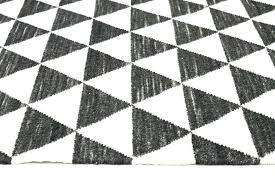 ikea black and white rug black and white geometric rug black white geometric wool rug black