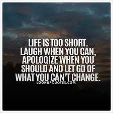 Life Is Too Short Quotes Best Life Is Too Short Laugh When You Can Apologize When You Should An